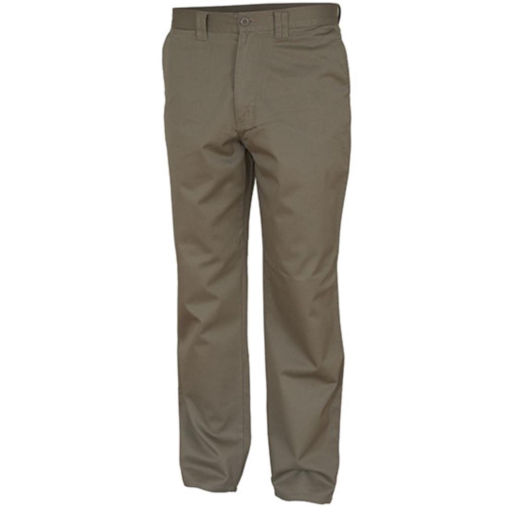 Pantaloni classici kaki
