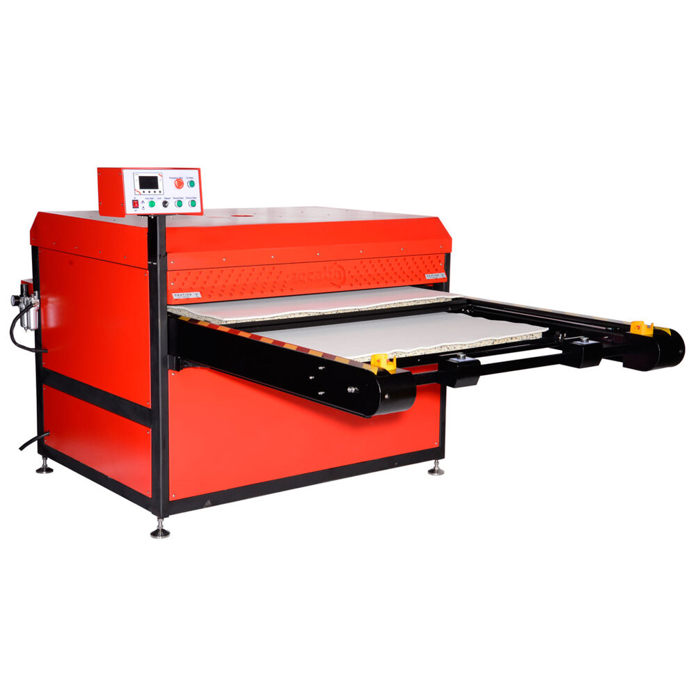 Secabo TPD12 pneumatic heat press