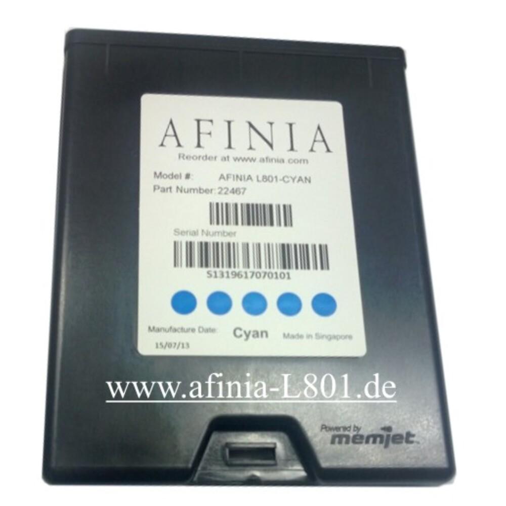 Cartucho de tinta Cyan L-801 Impresora de etiquetas