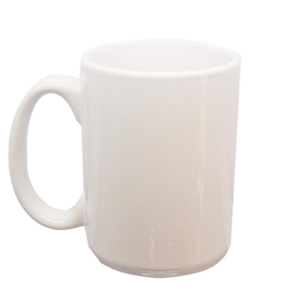 Tasse weiß, groß, 0,4l