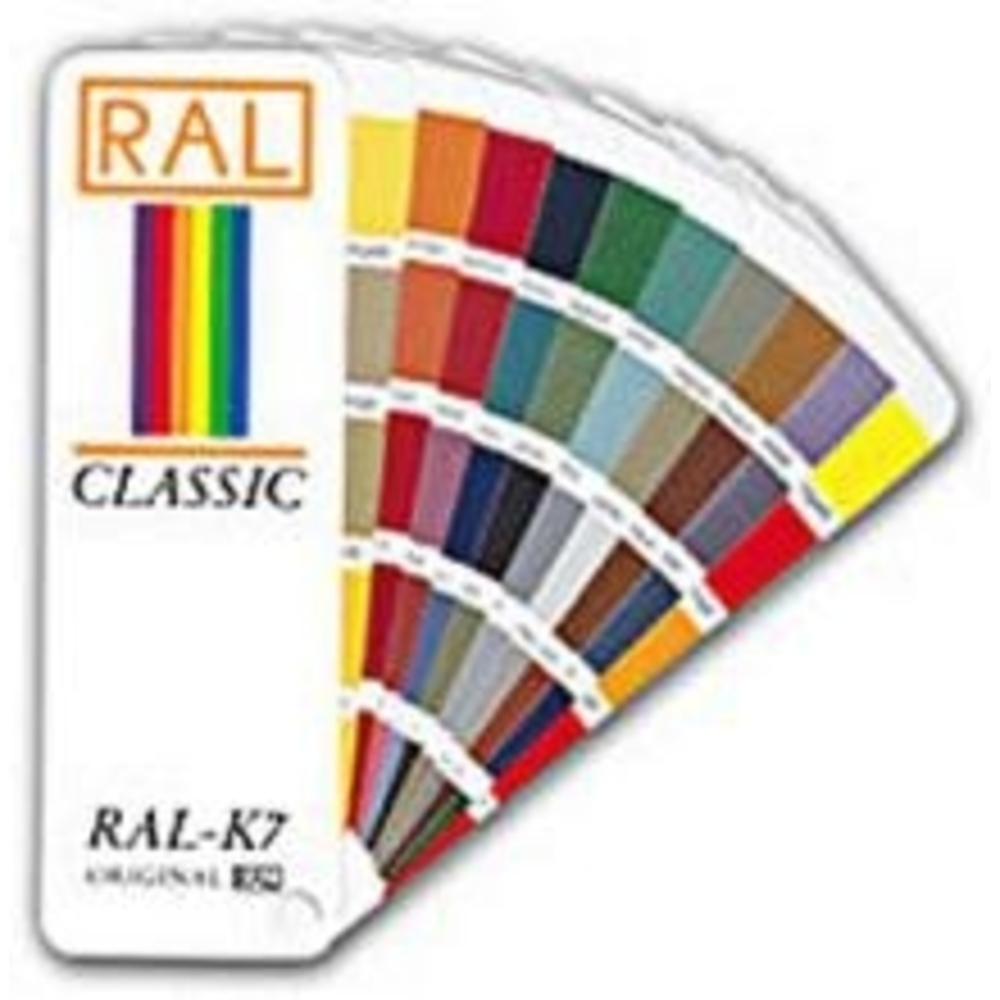 RAL-colour swatchbook