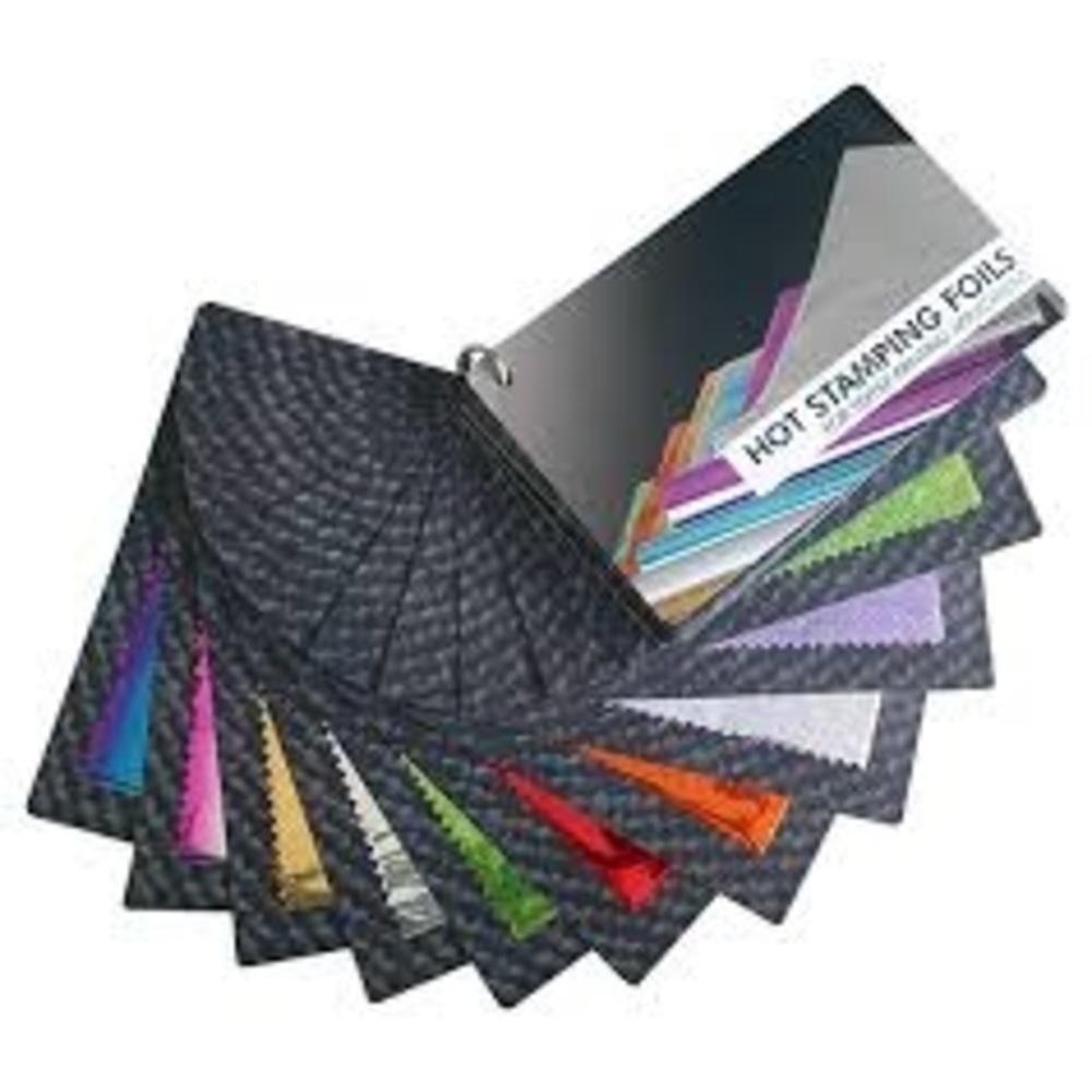 Farbfächer Heißprägefolien für Textiltransfer