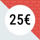 YOW! Bon d'achat d'une valeur de 25 EUR