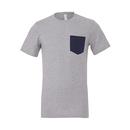 Men´s Jersey Short Sleeve Pocket Tee