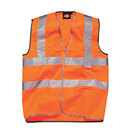 Safety vest with velcro fastening