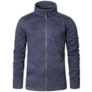 Mens Knit Fleece Jacket C+