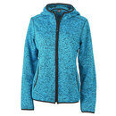 Ladies´ Knitted Fleece Hoody