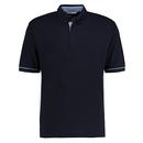 Button Down Collar Contrast Polo Shirt