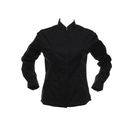 Women's Bar Shirt Mandarin Collar Longsleeve