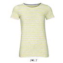 T-Shirt Femme à col rond rayé T-Shirt Miles