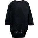 Body à manches longues pour bébé en jersey fin