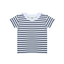 Short Sleeved Stripe T Shirt