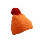 Pompon Hat with Brim