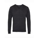 Mens V-Neck Knitted Sweater