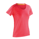 T-shirt Fitness Femme en marbre brillant
