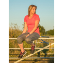 Fitness Womens Shiny Marl T-Shirt