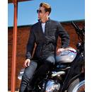 Veste style motard