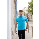 Mens Short Sleeved Stretch Polo