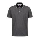 Mens 2-Tone Pique Tipped Polo Shirt