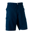 Workwear shorts made of polyester twill/cotton twill