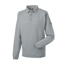 Workwear-Sweatshirt mit Kragen und Knopfleiste