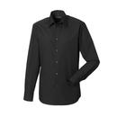 Men`s Long Sleeve Polycotton Tailored Poplin Shirt