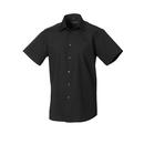 Men´s Short Sleeve Polycotton Tailored Poplin Shirt