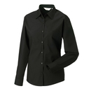 Ladies´ Long Sleeve Polycotton Poplin Shirt