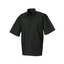 Men's Short Sleeve Polycotton Poplin Shirt