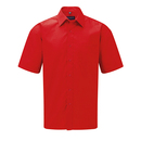 Men´s Short Sleeve Polycotton Poplin Shirt