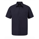 Men's Short Sleeve Polycotton Poplin Shirt