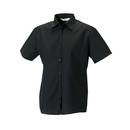 Ladies´ Short Sleeve Polycotton Poplin Shirt