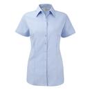 Ladies´ Short Sleeve Herringbone Shirt