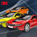 3M Series 1380-G Wrap Film 55 Gloss Lucid Yellow 152 cm