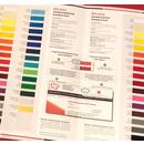 YOW! Farbkarte standard glänzend und matt