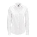 Maglietta in popeline Smart manica lunga / Donna