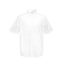 Camicia Oxford manica corta da uomo