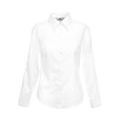 Ladies Long Sleeve Oxford Shirt
