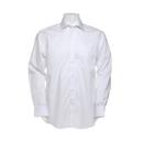 Camicia corporativa premium non stirata dal taglio classico da uomo a manica lunga