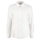 Camisa Oxford de manga larga con corte a medida para mujer