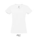 Camiseta de Mujer Imperial con Cuello en V