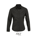 Ladies` Long Sleeved Stretch Shirt Eden