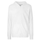 Sweat à capuche en jersey unisexe avec fermeture éclair
