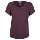 T-shirt donna Tri-Blend Dolman