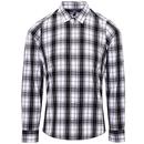 Chemise en coton à manches longues pour femmes Ginmill Check
