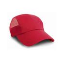 Gorra deportiva con malla lateral