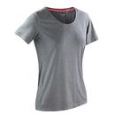 Maglietta lucida da donna per il fitness