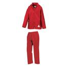 Junior chaqueta impermeable y pantalones Set