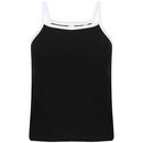 Women`s Feel Good Stretch Contrast Strappy Vest