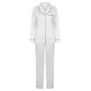 Ladies Satin Long Pyjamas